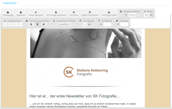 Der SK Newsletter